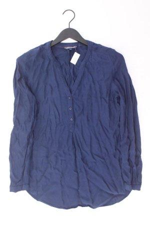 Tommy Hilfiger Langarmbluse Größe UK 10 neuwertig blau