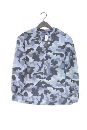 Tommy Hilfiger Langarmbluse Größe XS camouflage blau