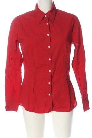 Tommy Hilfiger Shirt met lange mouwen rood casual uitstraling