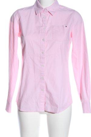 Tommy Hilfiger Camisa de manga larga rosa estilo «business»