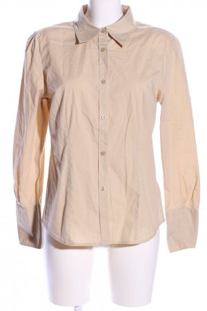 Tommy Hilfiger Langarmhemd creme Business-Look