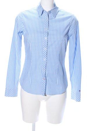 Tommy Hilfiger Shirt met lange mouwen blauw-wit volledige print