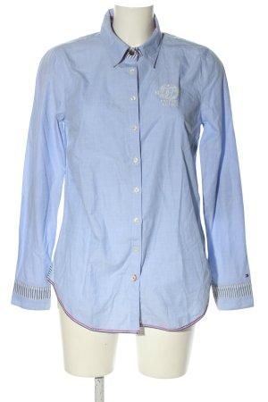 Tommy Hilfiger Langarmhemd blau Business-Look