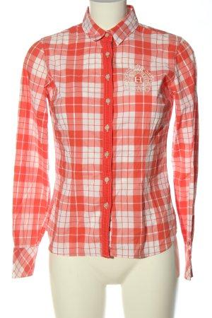 Tommy Hilfiger Chemise à manches longues rouge-blanc imprimé allover