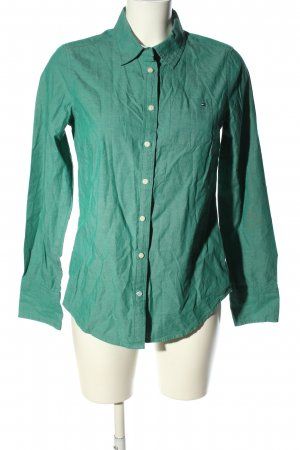 Tommy Hilfiger Langarmhemd grün Business-Look