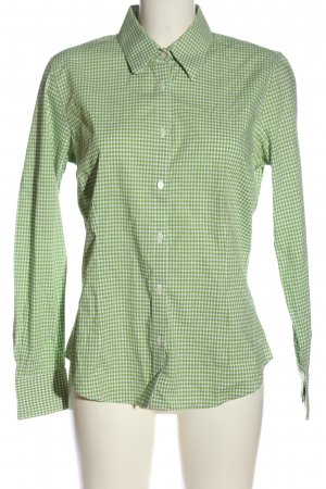 Tommy Hilfiger Langarmhemd weiß-grün Karomuster Casual-Look