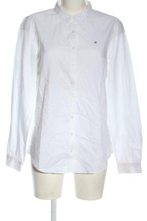 Tommy Hilfiger Camicia a maniche lunghe bianco stile professionale