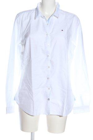 Tommy Hilfiger Camisa de manga larga blanco look casual