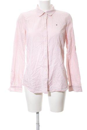 Tommy Hilfiger Shirt met lange mouwen roze zakelijke stijl