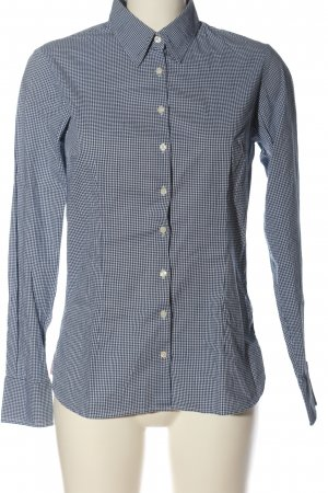 Tommy Hilfiger Camisa de manga larga blanco-azul estilo «business»