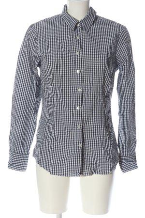 Tommy Hilfiger Shirt met lange mouwen zwart-wit geruite print casual uitstraling