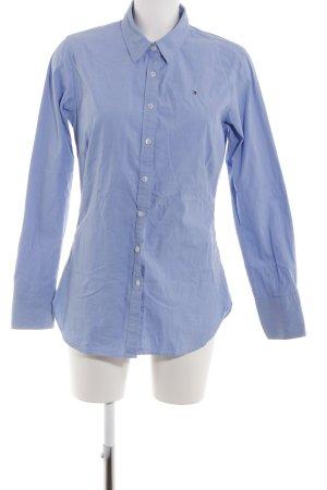 Tommy Hilfiger Shirt met lange mouwen blauw zakelijke stijl