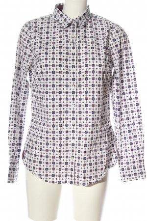 Tommy Hilfiger Langarmhemd Allover-Druck Casual-Look