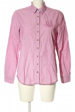 Tommy Hilfiger Langarmhemd pink Motivdruck Business-Look