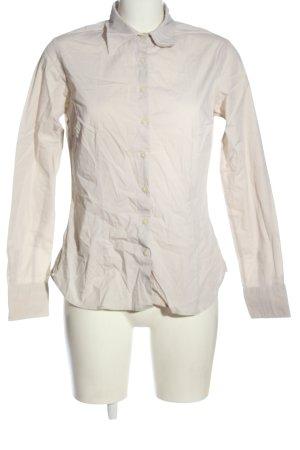 Tommy Hilfiger Shirt met lange mouwen wolwit zakelijke stijl