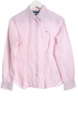 Tommy Hilfiger Langarmhemd pink Streifenmuster Casual-Look