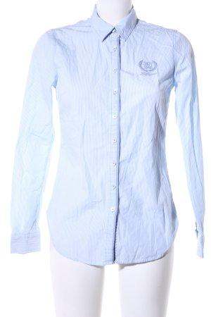 Tommy Hilfiger Langarmhemd blau Streifenmuster Casual-Look