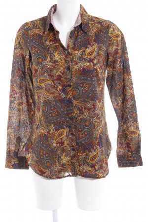 Tommy Hilfiger Langarmhemd abstraktes Muster extravaganter Stil