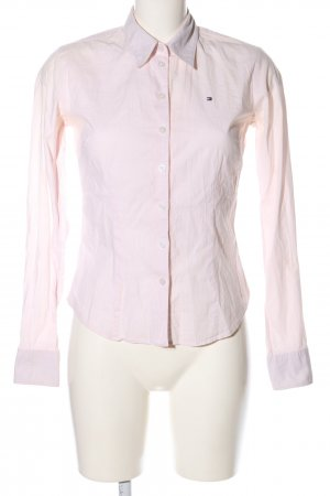 Tommy Hilfiger Langarmhemd weiß-pink Karomuster Business-Look