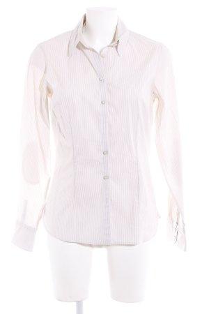 Tommy Hilfiger Langarmhemd beige-creme Streifenmuster Casual-Look