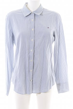 Tommy Hilfiger Shirt met lange mouwen blauw-wit gestreept patroon