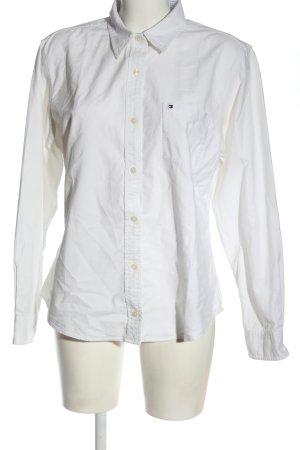 Tommy Hilfiger Koszula z długim rękawem biały W stylu biznesowym