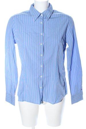 Tommy Hilfiger Langarmhemd blau Streifenmuster Business-Look