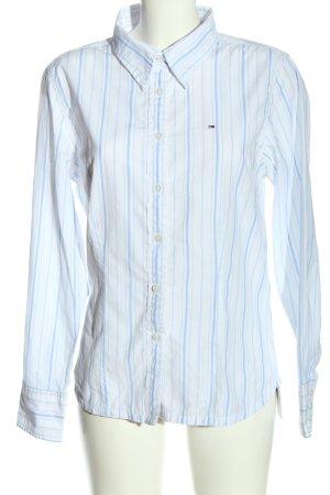 Tommy Hilfiger Chemise à manches longues blanc-turquoise imprimé allover