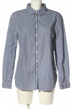 Tommy Hilfiger Langarmhemd schwarz-weiß Karomuster Casual-Look