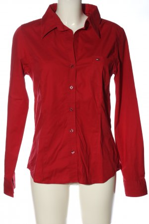 Tommy Hilfiger Langarmhemd rot Casual-Look