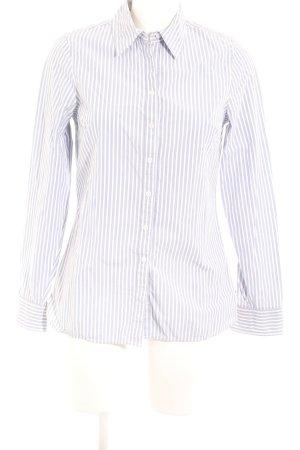 Tommy Hilfiger Langarmhemd himmelblau-weiß Streifenmuster Business-Look