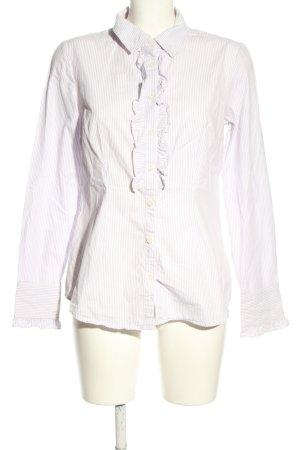 Tommy Hilfiger Koszula z długim rękawem fiolet-w kolorze białej wełny