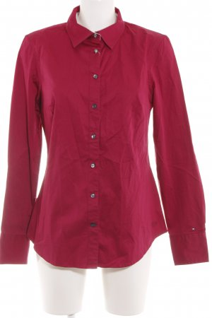 Tommy Hilfiger Langarmhemd rot Business-Look