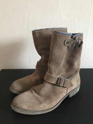 Tommy Hilfiger Leder Boots, braun, 41