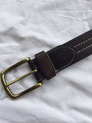 Tommy Hilfiger Leather Belt dark brown