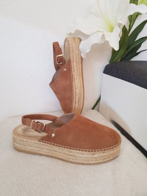 Tommy Hilfiger Platform Sandals sand brown-cognac-coloured