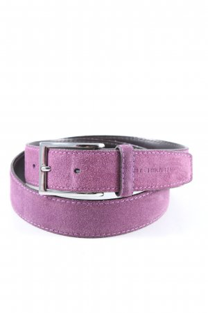 Tommy Hilfiger Leather Belt lilac casual look