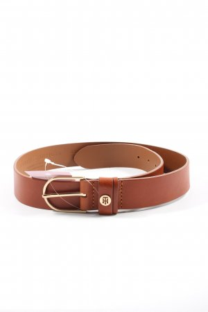 Tommy Hilfiger Leather Belt brown casual look