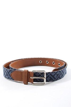 Tommy Hilfiger Ledergürtel blau Casual-Look