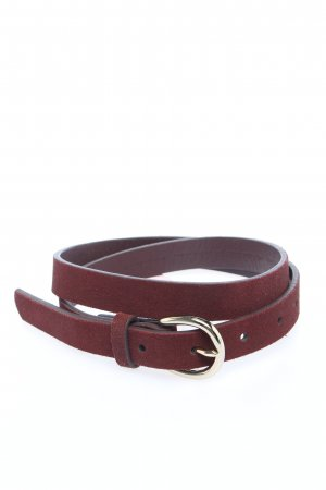 Tommy Hilfiger Leather Belt red casual look