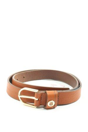 Tommy Hilfiger Cinturón de cuero marrón look casual