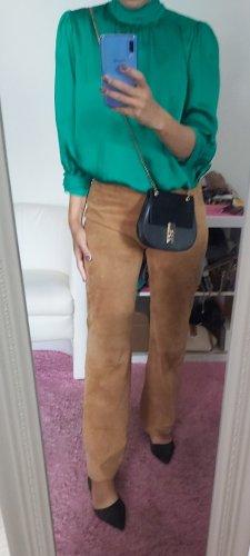 Tommy Hilfiger Pantalon en cuir brun sable