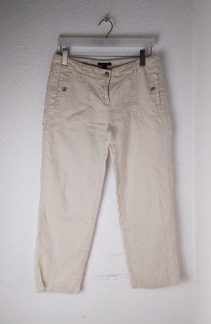 Tommy Hilfiger Pantalón de lino amarillo claro Lino