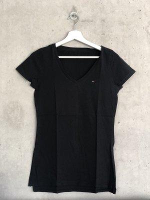 Tommy Hilfiger logo shirt schwarz