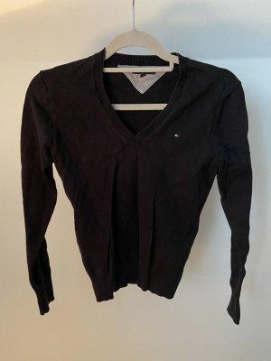 Tommy Hilfiger Logo V-Ausschnitt Pullover