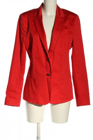 Tommy Hilfiger Long-Blazer rot Business-Look