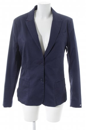 Tommy Hilfiger Long-Blazer dunkelblau Business-Look