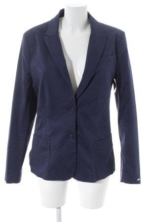 Tommy Hilfiger Long-Blazer dunkelblau Business-Look