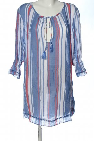 Tommy Hilfiger Long-Bluse Allover-Druck Casual-Look