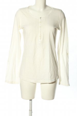 Tommy Hilfiger Longsleeve creme Casual-Look